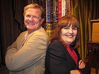 Richard Stewart and Jo Lauricella