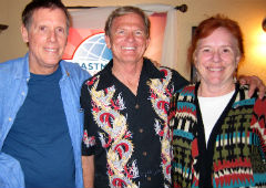 John Taussig, Richard Stewart and Bobbi Wood