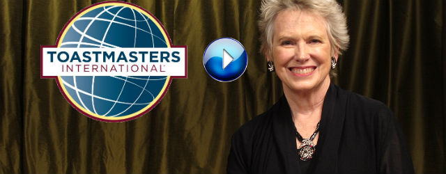 In this three minute TV segment, Past International Director of Toastmasters International, Roberta Perry, speaks about the communication and leadership opportunities available in every global Toastmasters club.