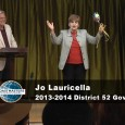 Roberta Perry and Richard Stewart present Jo Lauricella to the Renaissance Speakers as the newly elected 2013-2014 District Governor of Toastmasters District 52. District 52 serves Toastmasters clubs in downtown...
