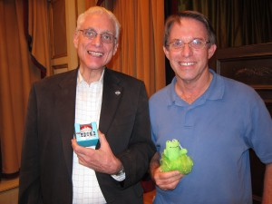 Tall Tales Contest Winners, Michael Wadler and Jeff Harman