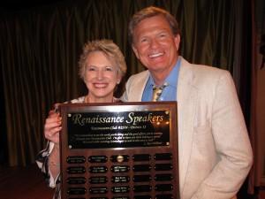 Roberta Perry and Richard Stewart